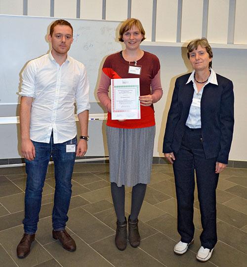 ISSIA PhD award winner 2017 Dr. Annick De Backer