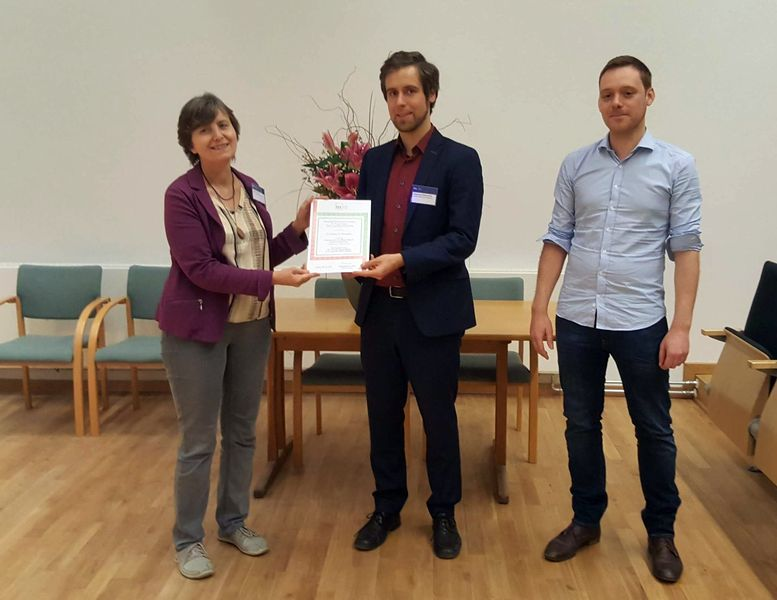 PhD Competition in Stereology and Image Analysis 2019 winner Dr. Johannes A. Österreicher